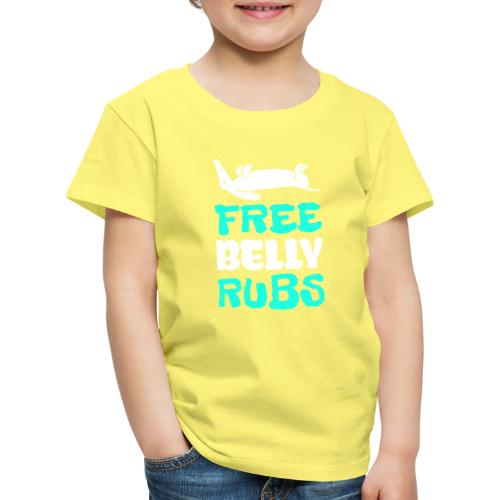 Belly Rubs - Lasten premium t-paita