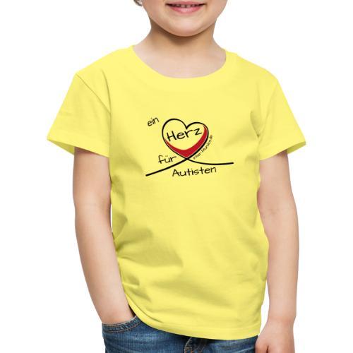Ein Herz für Autisten - Kinder Premium T-Shirt