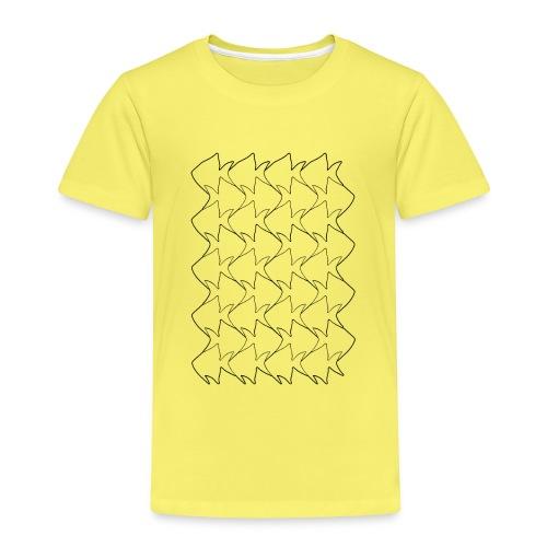 Fish And Birds Art - Kinderen Premium T-shirt
