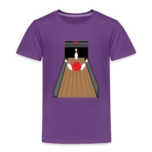 La piste de Bowling - T-shirt Premium Enfant