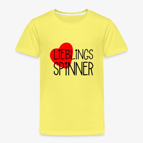 Lieblings-Spinner Geschenkidee Valentinstag - Kinder Premium T-Shirt