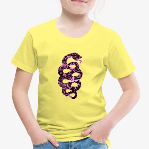 Flower Snake IV - Lasten premium t-paita