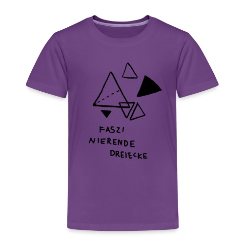 FASZINIERENDE DREIECKE T-Shirt für Geometrie-Fans - Kinder Premium T-Shirt