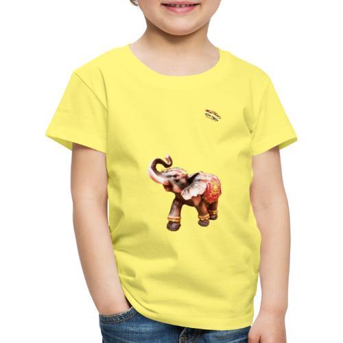 Elefant Junior Randy Design - Kinder Premium T-Shirt
