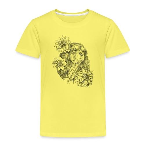 Dahlien Cavalier - Kinder Premium T-Shirt