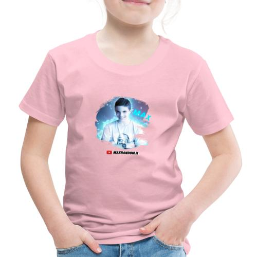 Max Random - Maglietta Premium per bambini