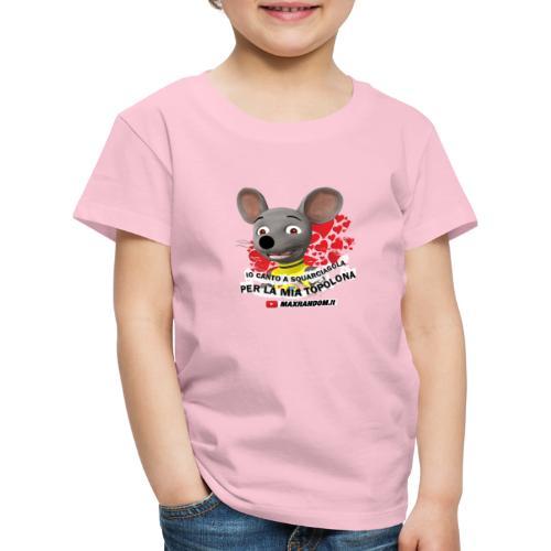 Io Canto a Squarciagola - Maglietta Premium per bambini