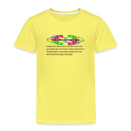 esprit seul et tembe A - T-shirt Premium Enfant