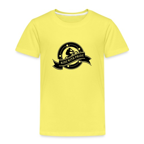 Ride with Pride - Børne premium T-shirt