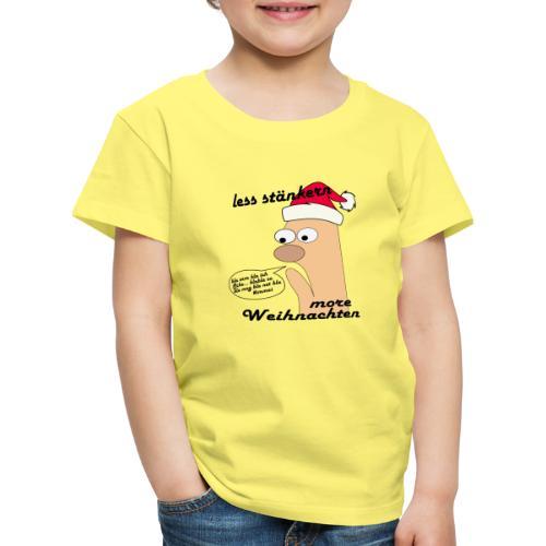 more Weihnachten - Kinder Premium T-Shirt