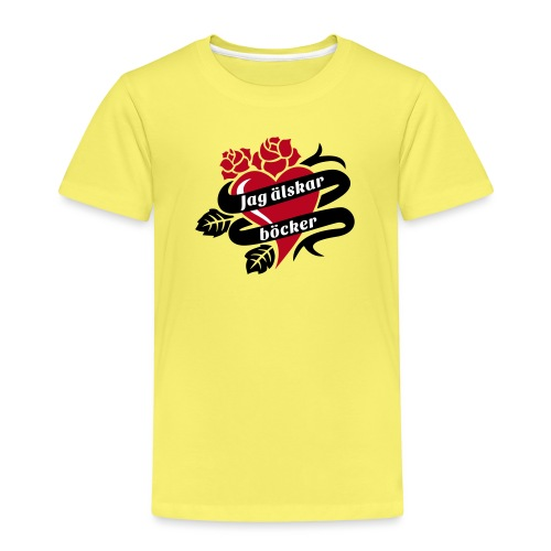 BOKTATUERING - Premium-T-shirt barn