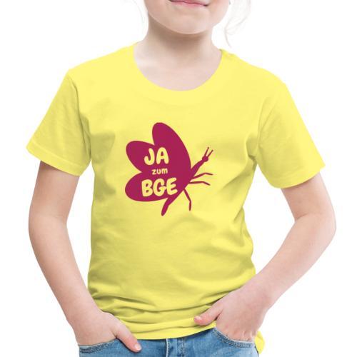 BGE - Frei sein wie ein Schmetterling - Kinder Premium T-Shirt