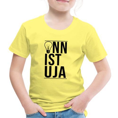 Onnistuja Musta - Lasten premium t-paita