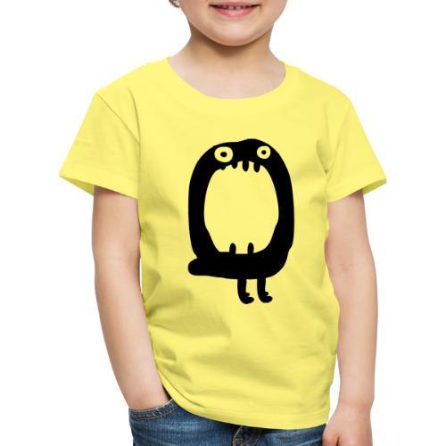 Buchstabe Monster O - Kinder Premium T-Shirt