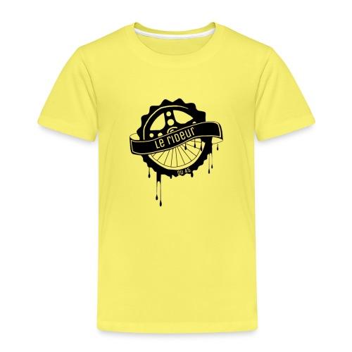 logo Le rideur du 45 noir - T-shirt Premium Enfant