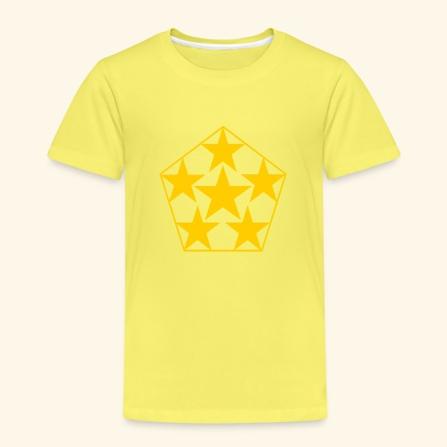 5 STAR gelb - Kinder Premium T-Shirt