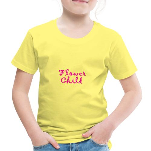Blumenkind Flowerchild - Kinder Premium T-Shirt
