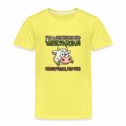 Secondhand vegetarian - Kinderen Premium T-shirt