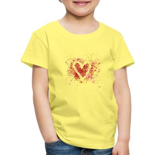 Hearts of splash - Kinderen Premium T-shirt