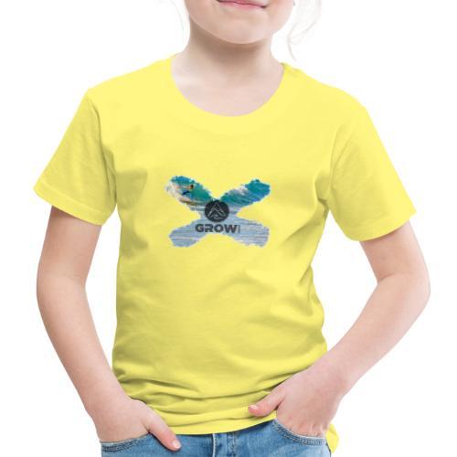 Grow Sports Surf X - Kinder Premium T-Shirt