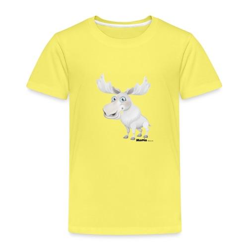Albino elg - Børne premium T-shirt