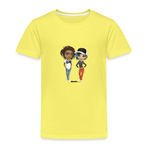 Maya & Noa - Premium T-skjorte for barn