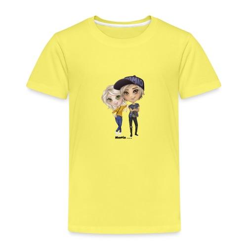 Emily ja Lucas - Lasten premium t-paita