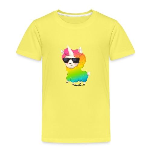 Rainbow animo - Premium T-skjorte for barn