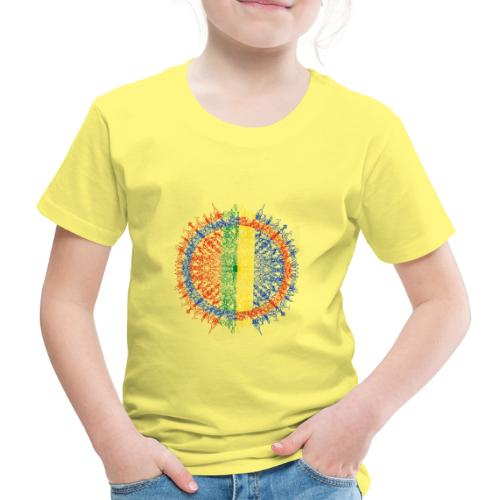 Samisk flagg - Premium T-skjorte for barn