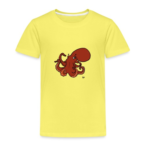Giant Pacific Octopus - Premium-T-shirt barn