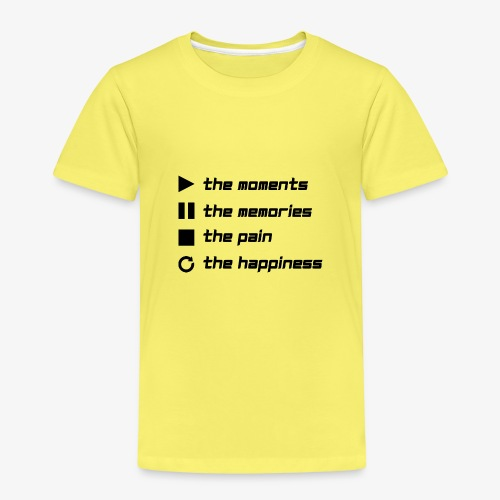 Play the Moments Stop the Pain - Kinder Premium T-Shirt