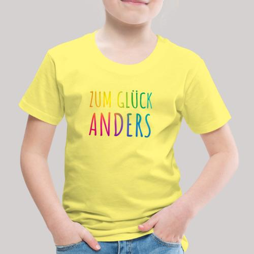 Zum Glück anders - Kinder Premium T-Shirt