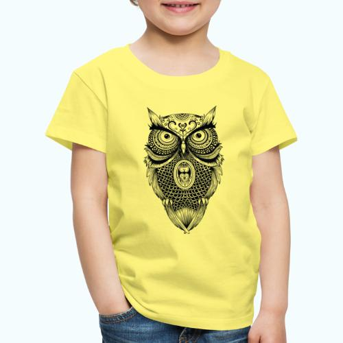 Mandala owl - Kids' Premium T-Shirt