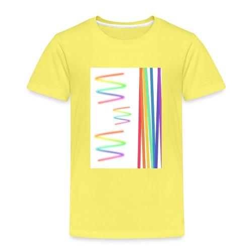 Lineas coloridas - Camiseta premium niño
