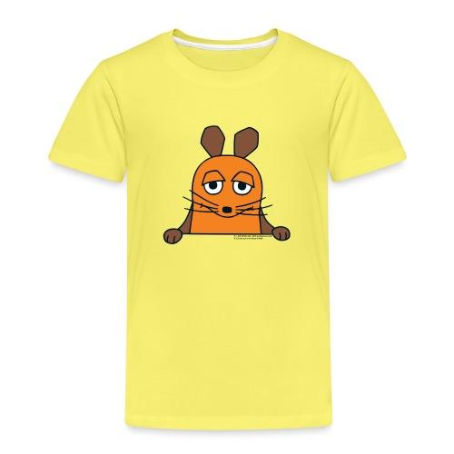 Die Maus guckt raus - Kinder Premium T-Shirt