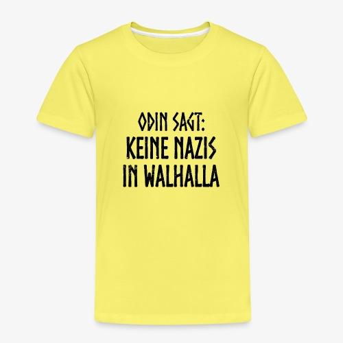 Keine nazis in walhalla - Kinder Premium T-Shirt