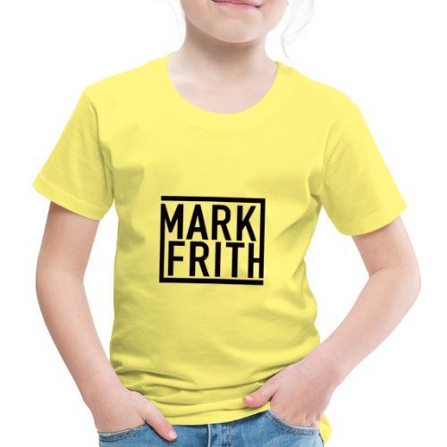 MARK FRITH Logo BLACK - Kids' Premium T-Shirt