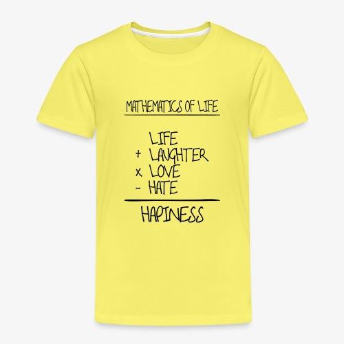 Mathematics of life - Kinder Premium T-Shirt