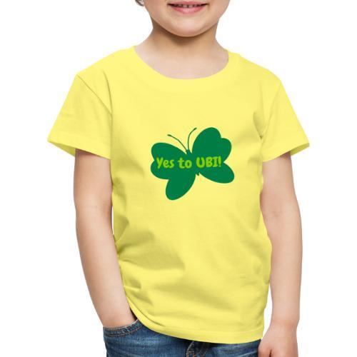 Free as a butterfly. - Kids' Premium T-Shirt