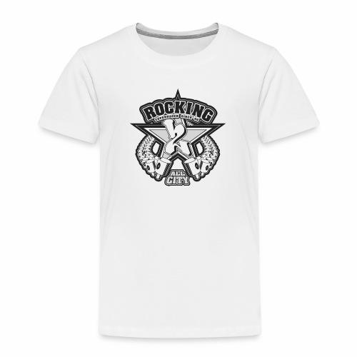 rocking copenhagen 2wear since 00 ver01 - Børne premium T-shirt