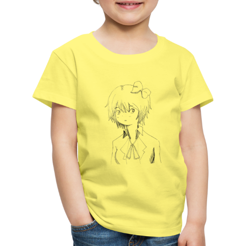 Cartoon girl - Kids' Premium T-Shirt