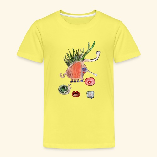 elefanti png - Kinder Premium T-Shirt