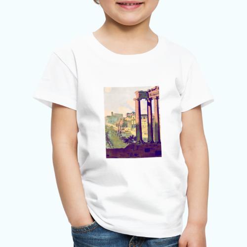 Rome Vintage Travel Poster - Kids' Premium T-Shirt