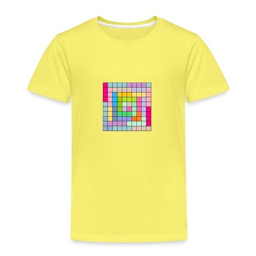 CUADRICULA4 - Camiseta premium niño