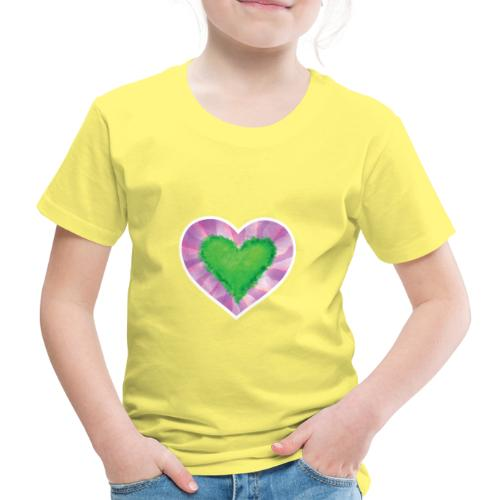 Green Heart - Kids' Premium T-Shirt
