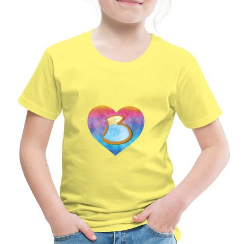 Be a B Heart - Kids' Premium T-Shirt