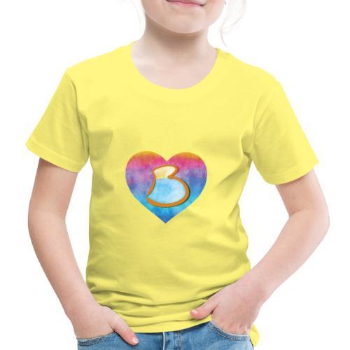 Be a B Heart - Kids' Premium T-Shirt