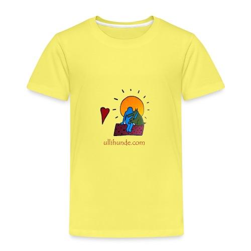 Ullihunde - Logo RETRO - Kinder Premium T-Shirt