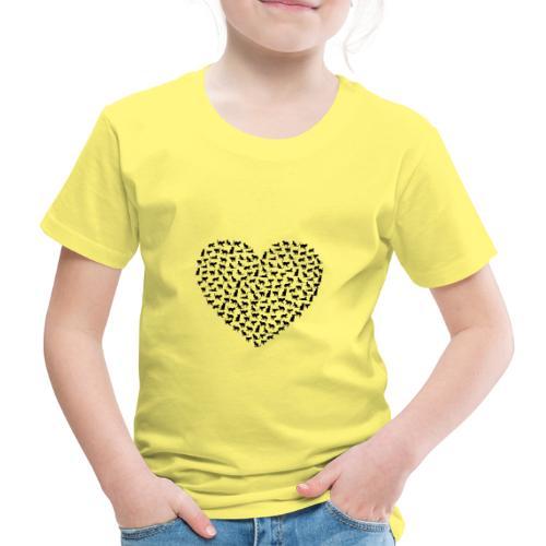 AMOR GATOS - Camiseta premium niño