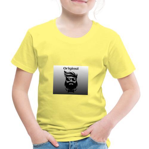 Head mit Bart - Kinder Premium T-Shirt